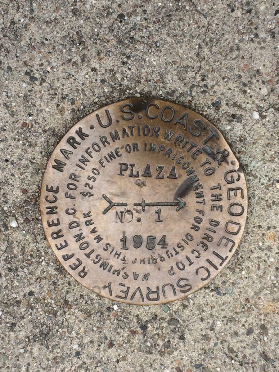 Geodetic Survey Marker