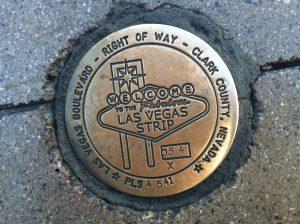 Las Vegas Survey Marker